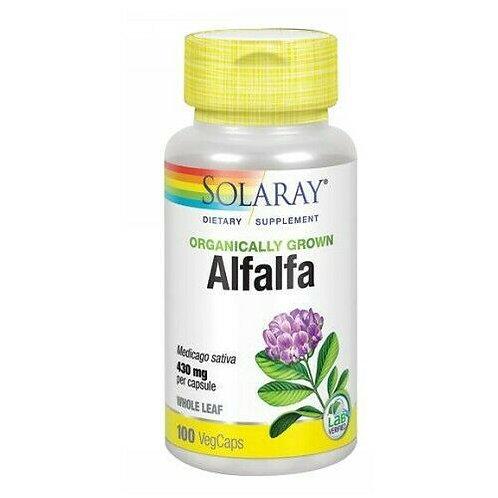 Solaray Alfalfa Organic 430 mg  100 caps