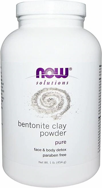 Now Solutions Bentonite Clay Powder  454 g