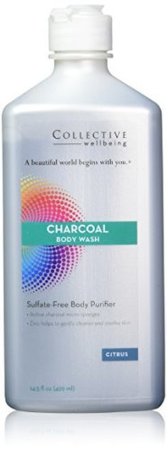 Collective Wellbeing Charcoal Body Wash Citrus  429 ml