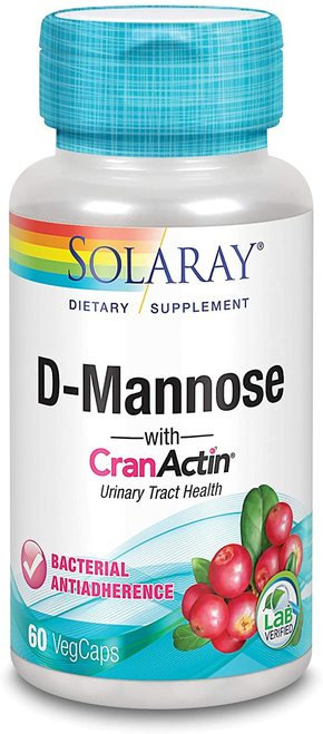 Solaray D-Mannose  60 caps