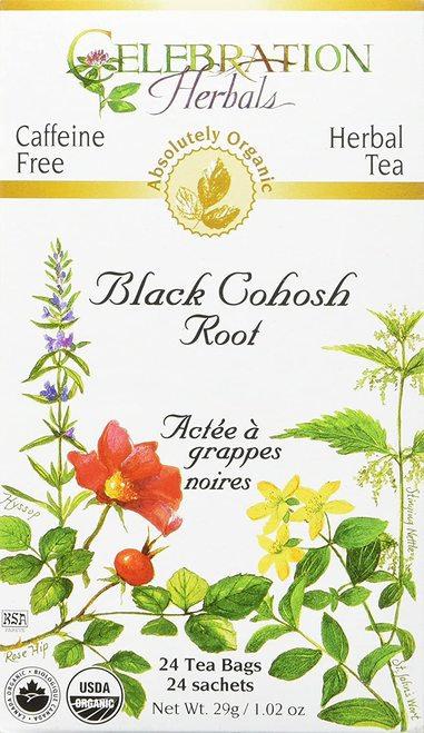 Celebration Organic Herbal Tea Black Cohosh Root  24 bags