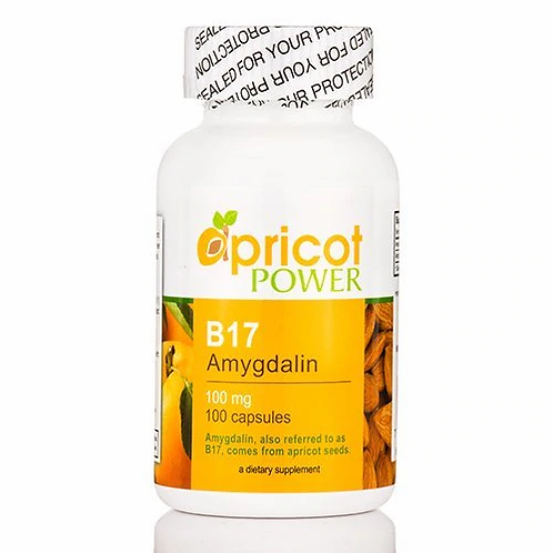 Apricot Power B17 Amygdalin 100 mg  100 caps