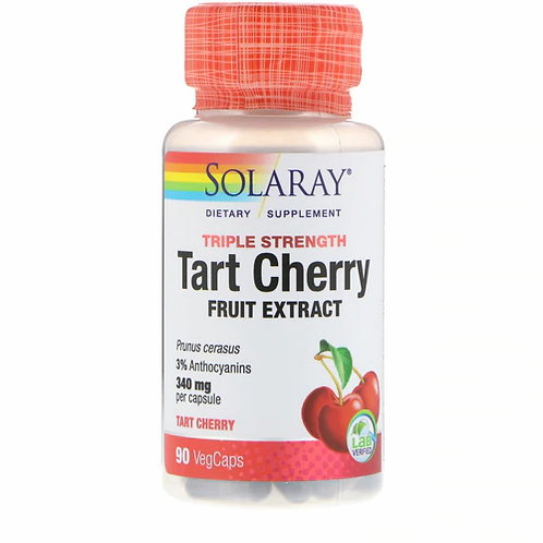 Solaray Tart Cherry Triple Strength 340 g  90 caps