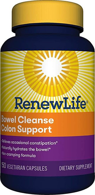 RenewLife Bowel Cleanse Colon Support  150 caps