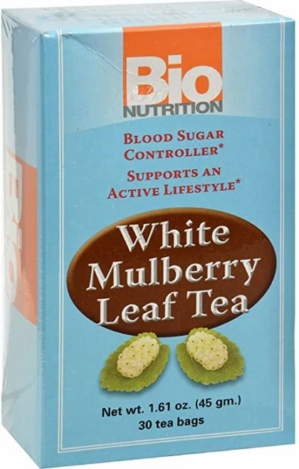 Bio Nutrition White Mulberry Leaf Tea  30 bags