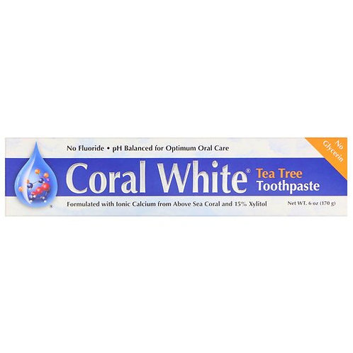 Coral LLC Coral White Toothpaste Tea Tree  170 g