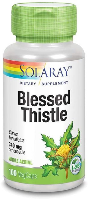 Solaray Blessed Thistle 340 mg  100 caps