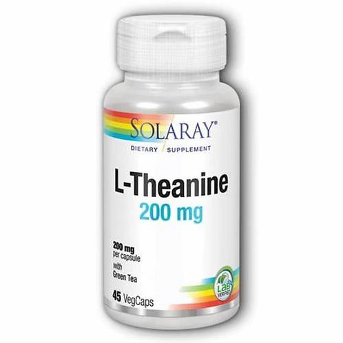 Solaray L-Theanine 200 mg  45 caps