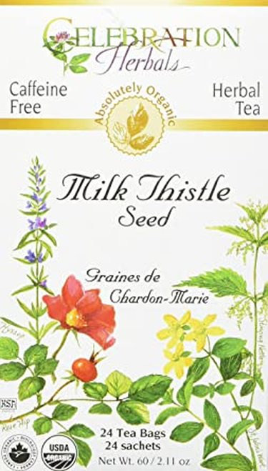 Celebration Organic Herbal Tea Milk Thistle Seed  24 bags