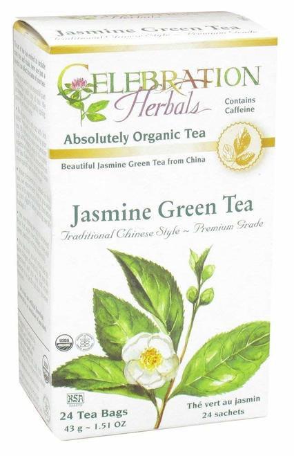 Celebration Organic Herbal Tea Jasmine Green Tea  24 bags