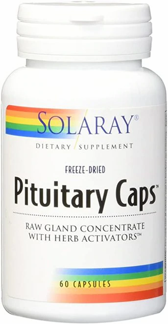 Solaray Pituitary Caps  60 caps