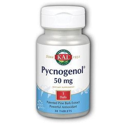 KAL Pycnogenol 50 mg 1 Daily  30 tabs
