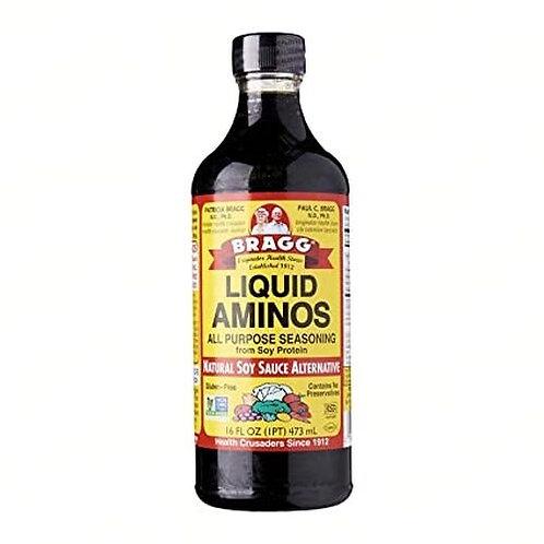 Bragg Liquid Aminos All Purpose Seasoning 16 oz 473 ml