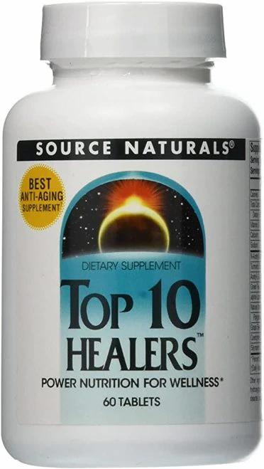 Source Naturals Top 10 Healers  60 tabs