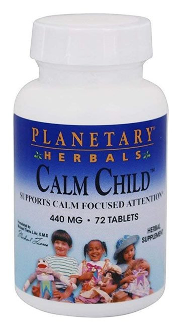 Planetary Herbals Calm Child  440 mg  72 tabs