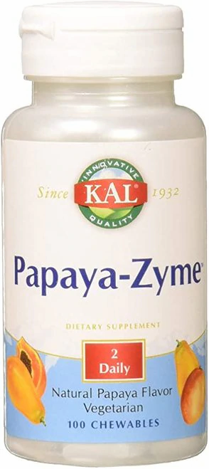 KAL Papaya-Zyme 2 Daily  100 chews
