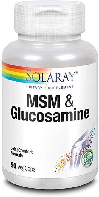 Solaray MSM & Glucosamine  90 caps