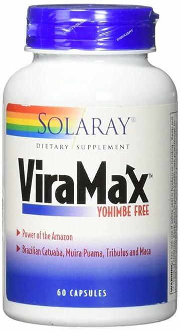 Solaray ViraMax Yohimbe Free  60 caps