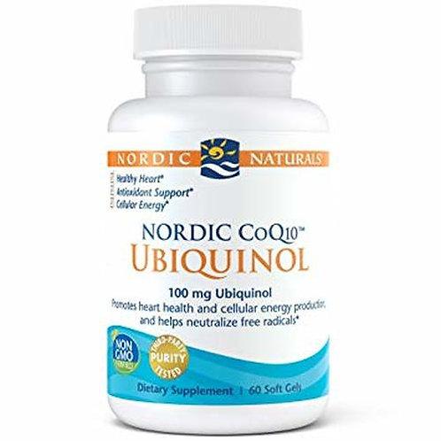 Nordic Naturals Nordic CoQ10 Ubiquinol 100 mg 60 soft gels