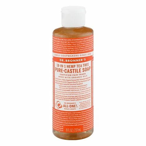 Dr. Bronner's Pure-Castile Soap Hemp Tea Tree  237 ml