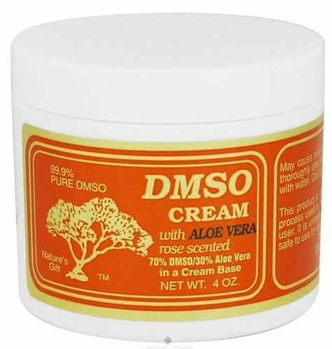 DMSO Cream wth Aloe Vera   4 oz