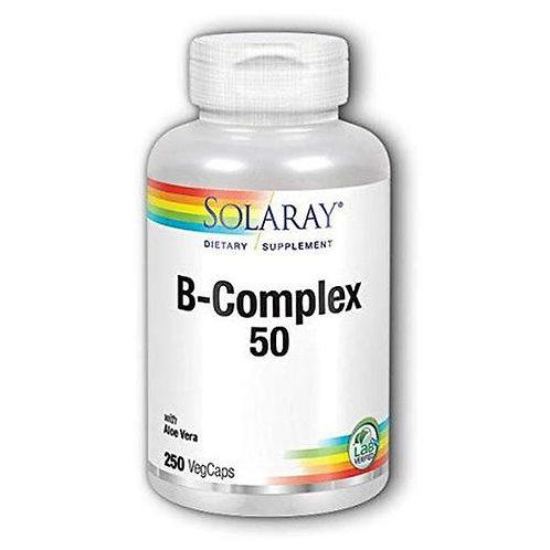 Solaray B-Complex 50  250 caps