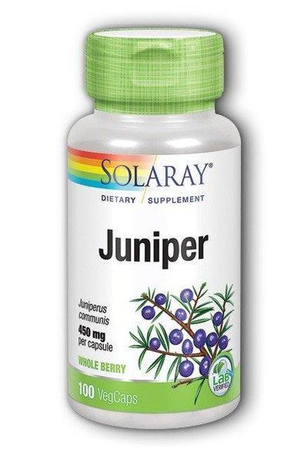 Solaray Juniper 450 mg  100 caps