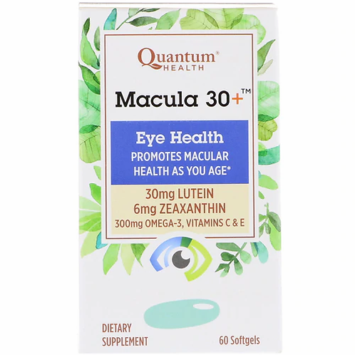 Quantum Health Macula 30+ Eye Health  60 softgels