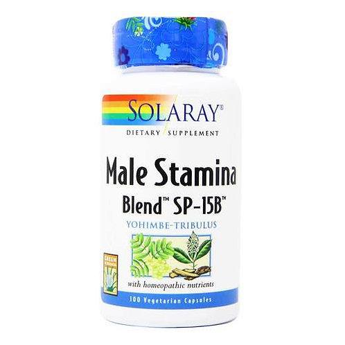 Solaray Male Stamina Blend SP-15B 100 caps
