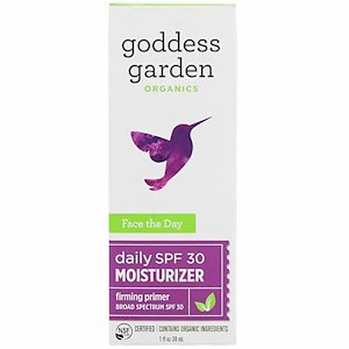 Goddess Garden Face the Day Moisturizer  30 ml