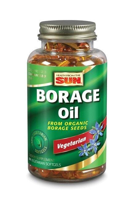 Nature's Life Borage Oil Vegetarian  60 softgels