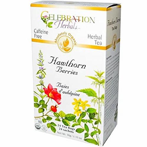 Celebration Organic Herbal Tea Hawthorn Berries  24 bags