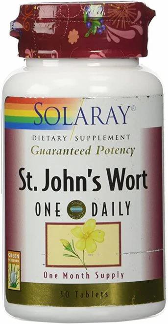 Solaray St. John's Wort One Daily 30 tabs