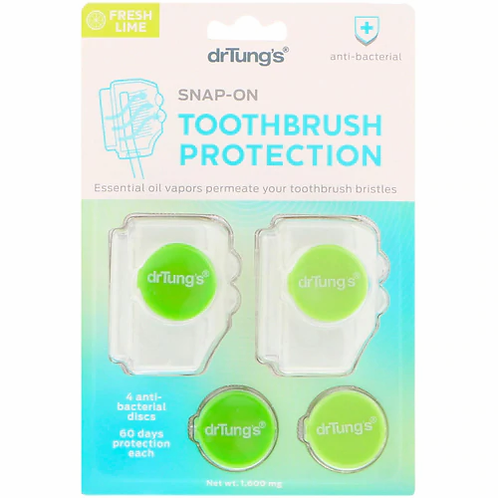 drTung's Toothbrush Protection Fresh Lime  1 ct