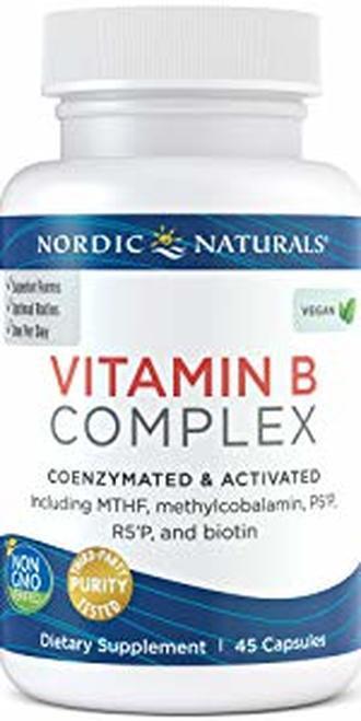 Nordic Naturals Vitamin B Complex 45 caps