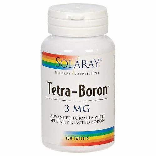 Solaray Tetra-Boron 3 mg  100 tabs