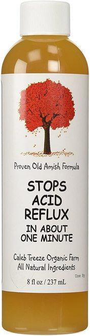 Proven Old Amish Formula Stops Acid Reflux  237 ml