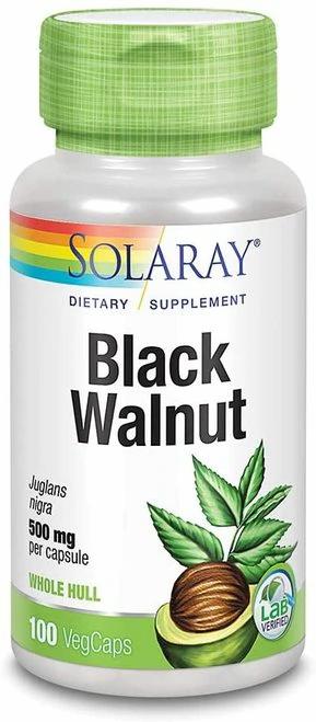 Solaray Black Walnut 500 mg  100 caps