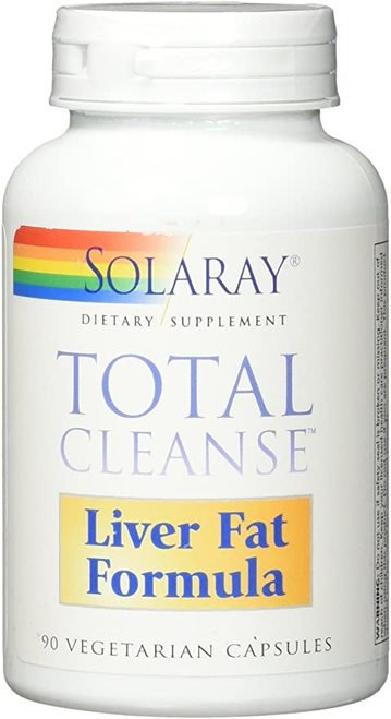 Solaray Total Cleanse Liver Fat Formula  90 caps
