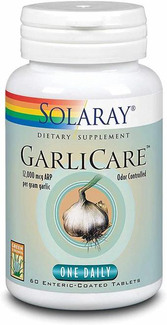 Solaray GarliCare One Daily 60 tabs