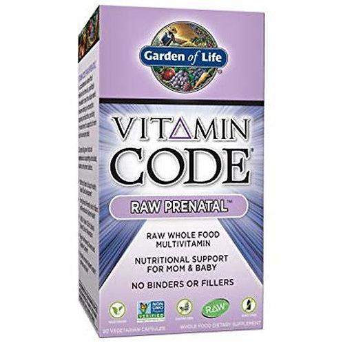 Garden of Life Vitamin Code RAW Prenatal 90 caps