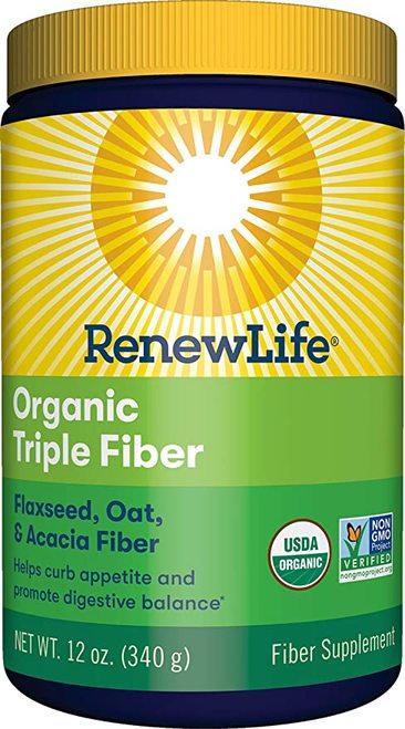 RenewLife Organic Triple Fiber  340 g