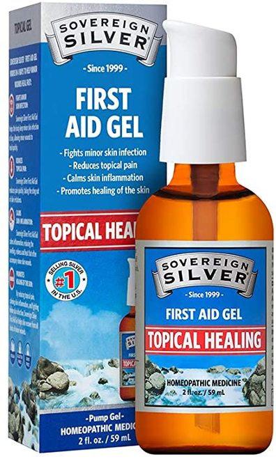 Soverign Silver Topical Healing Pump Gel  59 ml