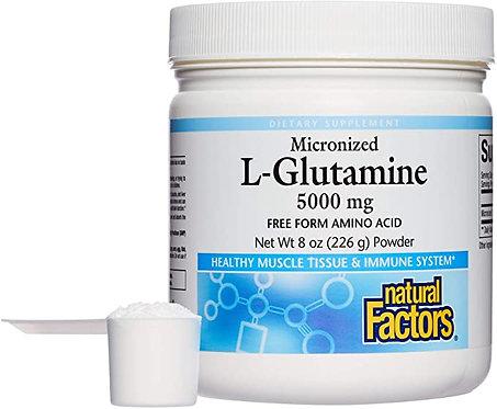 Natural Factors L-Glutamine Powder  5000 mg