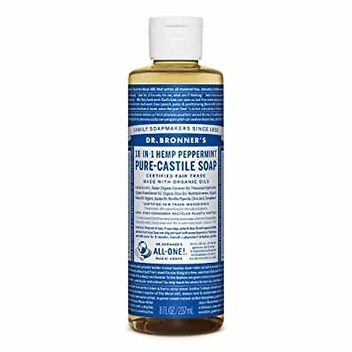 Dr. Bronner's Pure-Castile Soap  Peppermint  237 ml