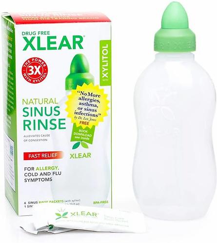 Xlear Sinus Rinse Bottle & 6 Packets