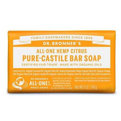 Dr. Bronner's Pure-Castile Bar Soap Citrus  140 g