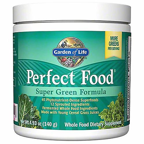 Garden of Life Perfect Food Super Green Formula 4.93 oz