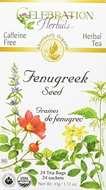Celebration Organic Herbal Tea Fenugreek Seed  24 bags