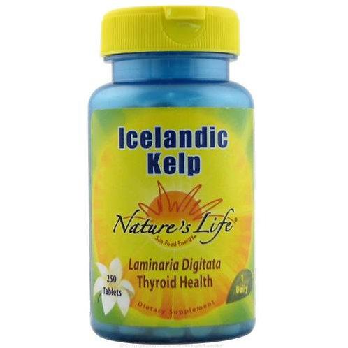 Nature's Plus Icelandic Kelp 1 Daily  250 tabs
